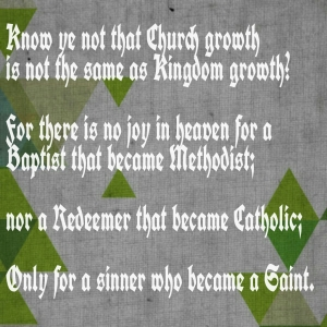Church growth _ kingdom growth