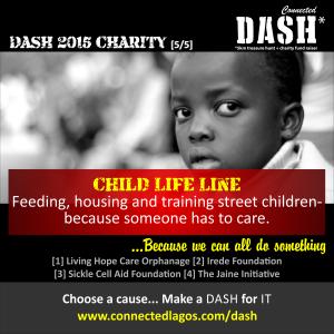 Dash 2015 Charities _ Child Life Line