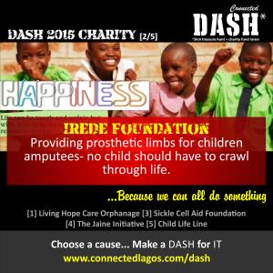 Dash 2015 Charities _ Irede