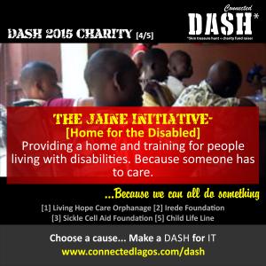 Dash 2015 Charities _ Jaine