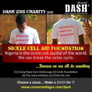 Dash 2015 Charities _ Sickle Cell Aid