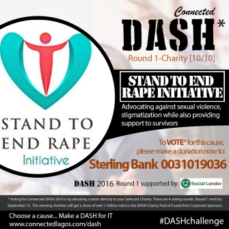 Dash 2016 Charities _Stand To End Rape