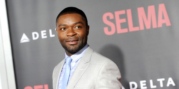 "Actor David Oyelowo attends the premiere of ""Selma"" at the Ziegfeld Theatre on Sunday, Dec. 14, 2014, in New York. (Photo by Evan Agostini/Invision/AP)"